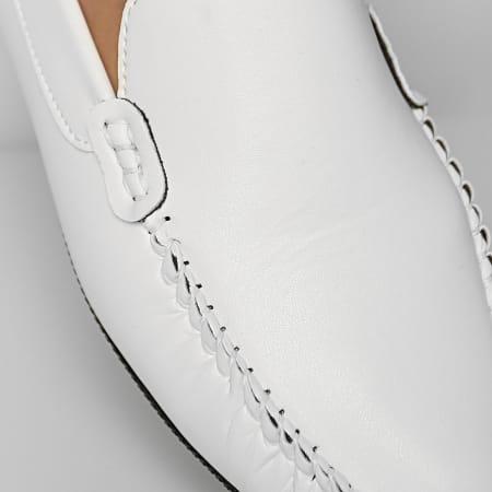 Classic Series - Mocassin 123 Blanc