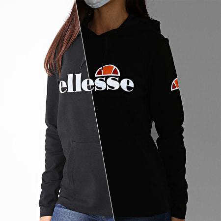 Ellesse - Sweat Capuche Femme Morcio SRG09926 Noir