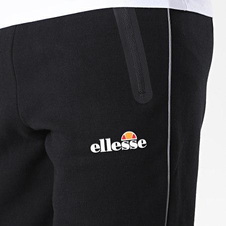 Ellesse - Pantalon Jogging Diruta SXG09897 Noir Réfléchissant