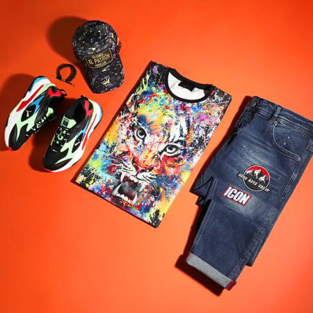 Uniplay - Tee Shirt Oversize UP-T700 Noir