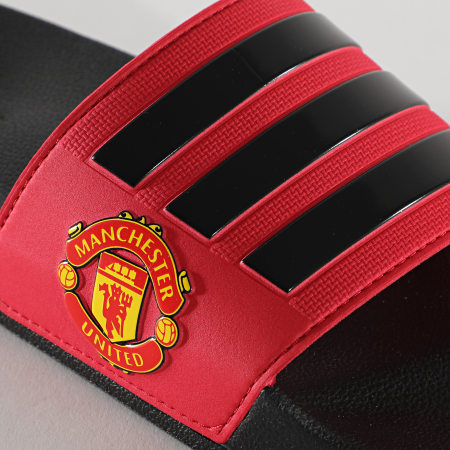 adidas - Claquettes Adilette Shower Manchester United FW7072 Real Red Core Black