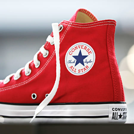 Converse - Baskets Chuck Taylor All Star Classic High Top M9621 Red