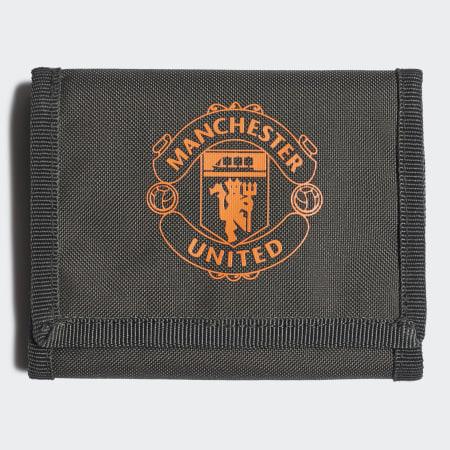 adidas - Portefeuille Manchester United FS0149 Vert Kaki