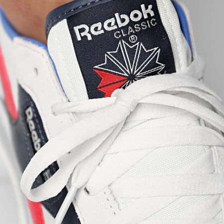 Reebok - Baskets Classic Leather AZ FX0856 Chalk Collegiate Navy Radiant Red