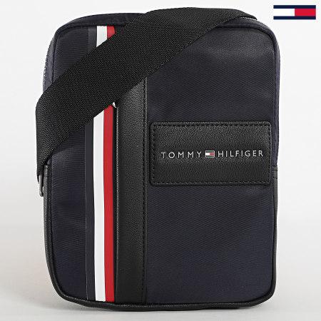 Tommy Hilfiger - Sacoche Metropolitan Mini Reporter 6292 Bleu Marine
