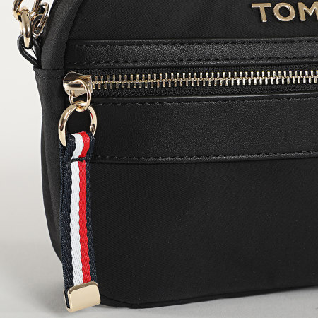 Tommy Hilfiger - Sac A Main Femme Nylon Crossover 8510 Noir