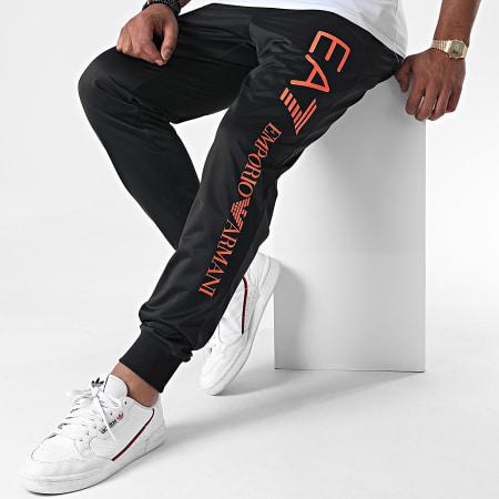 EA7 - Pantalon Jogging 8NPPA4-PJ08Z Noir