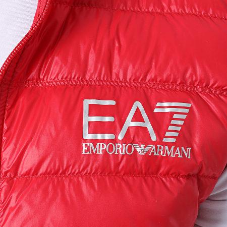 EA7 - Doudoune Sans Manches 8NPQ01-PN29Z Rouge
