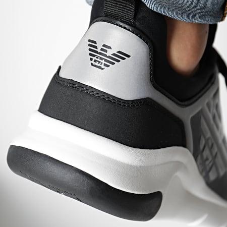 EA7 - Baskets X8X057-XCC55 Black Silver