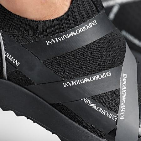 Emporio Armani - Baskets X4X253-XL692 Noir