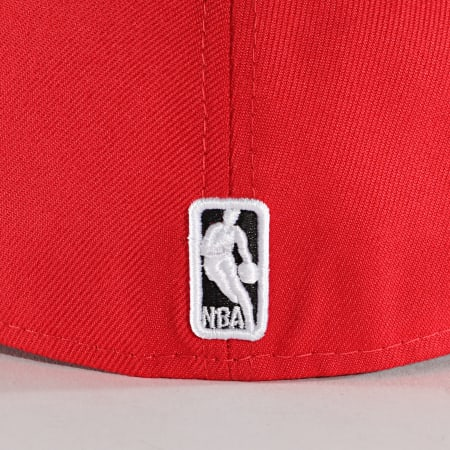 New Era - Casquette Snapback 9Fifty Colour Block 10861624 Chicago Bulls Rouge