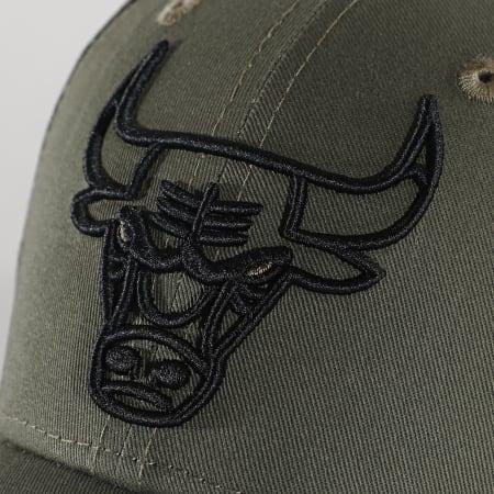 New Era - Casquette 9Forty NBA Essential 12292586 Chicago Bulls Vert Kaki