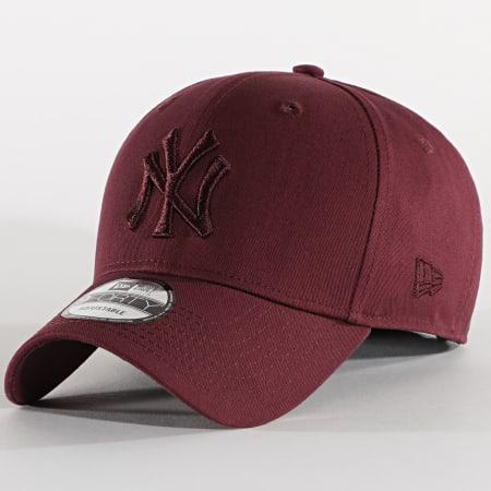 New Era - Casquette 9Forty League Essential 12523888 New York Yankees Bordeaux
