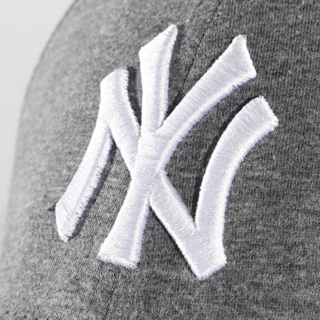 New Era - Casquette 9Forty Jersey Essential 12523896 New York Yankees Gris Anthracite Chiné