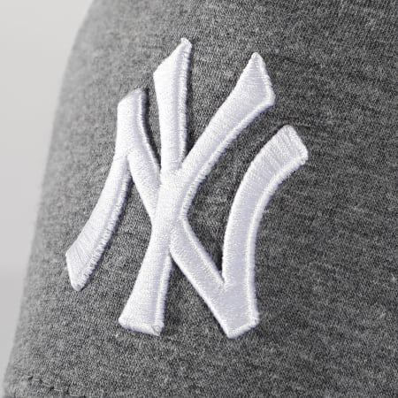 New Era - Casquette Trucker 9Forty Jersey 12523898 New York Yankees Gris Chiné