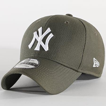 New Era - Casquette 9Forty Diamond Era 12523904 New York Yankees Vert Kaki