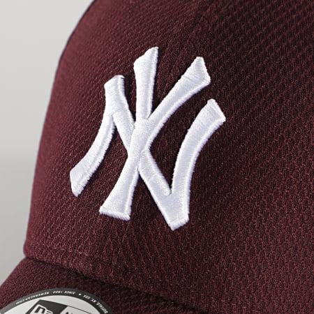 New Era - Casquette 9Forty Diamond Era 12523905 New York Yankees Bordeaux