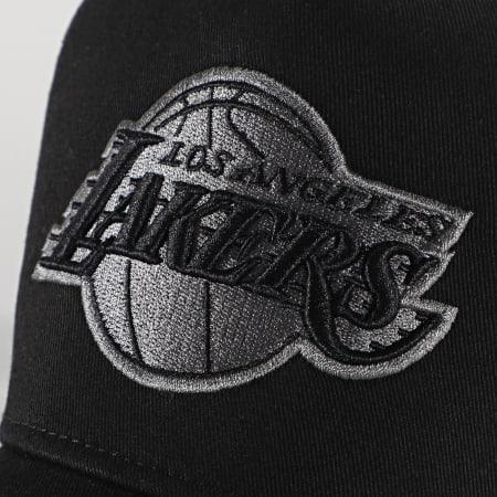 New Era - Casquette Trucker Bob Team 12523911 Los Angeles Lakers Noir