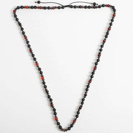 Black Needle - Collier BBC-279 Noir Marron