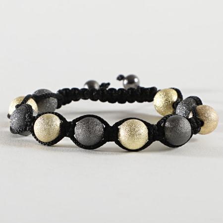 California Jewels - Bracelet KS2011070 Noir Doré