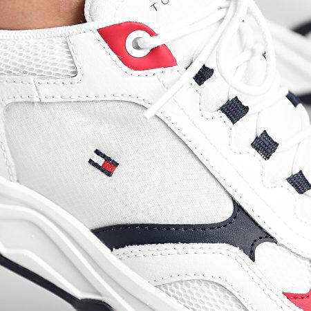 Tommy Hilfiger - Baskets Fashion Mix 2846 White