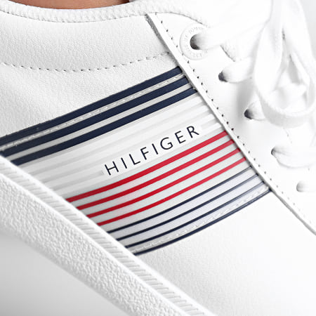 Tommy Hilfiger - Baskets Essential Corporate Cupsole 2842 White