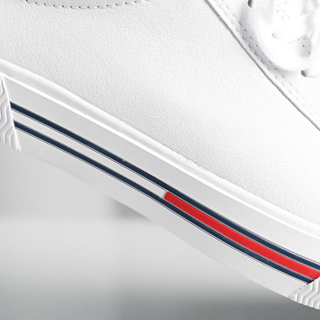 Tommy Hilfiger Jeans - Baskets Essential Leather 0488 White
