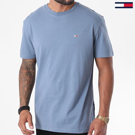 Tommy Jeans - Tee Shirt Tommy Classics 6061 Bleu Ciel