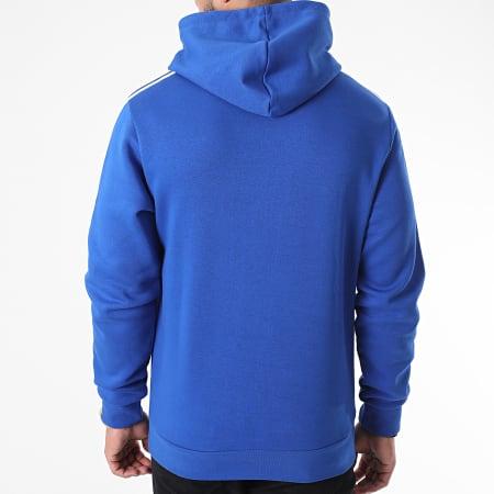 adidas - Sweat Capuche A Bandes PO GD5376 Bleu Roi