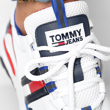 Tommy Hilfiger Jeans - Baskets Cool Runner 0484 RWB