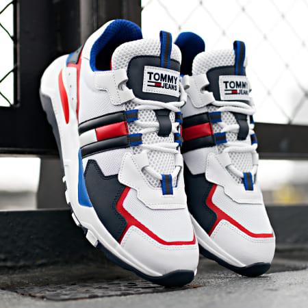 Tommy Hilfiger Jeans - Baskets Cool Runner 0484 RWB