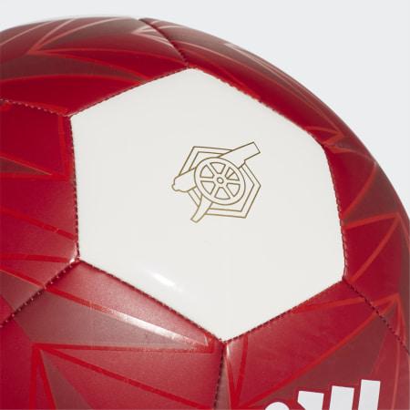adidas - Ballon De Foot Arsenal FC CLB FT9092 Bordeaux Blanc