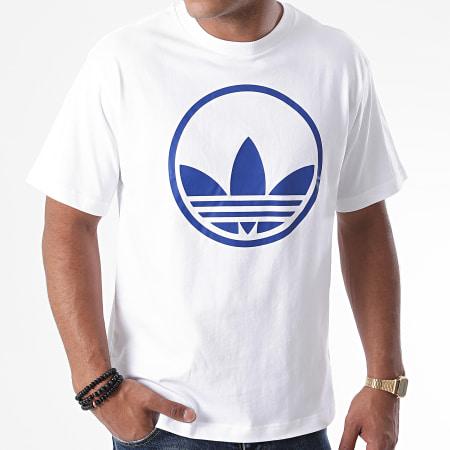 adidas - Tee Shirt Circle Trefoil GD2103 Blanc