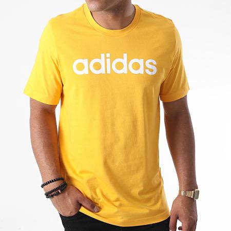 adidas - Tee Shirt Essential Linear GD5396 Jaune