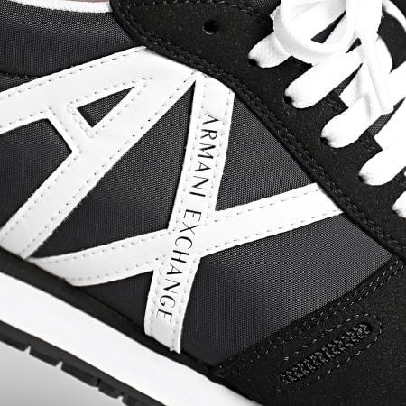 Armani Exchange - Baskets XUX017-XCC68 Black White