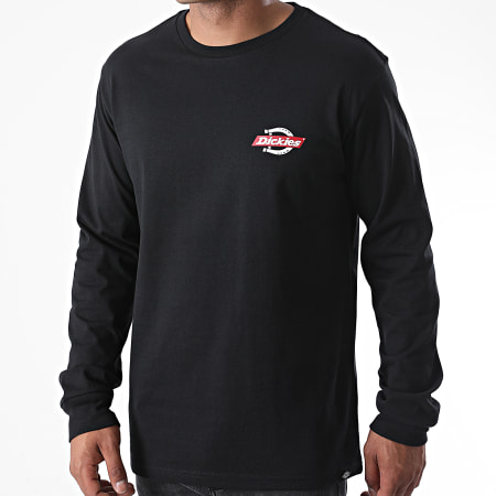 Dickies - Tee Shirt Manches Longues Ruston Noir