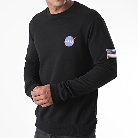 Only And Sons - Sweat Crewneck NASA Noir