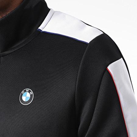 Puma -  Veste Zippée A Bandes BMW Motorsport T7 597991 Noir
