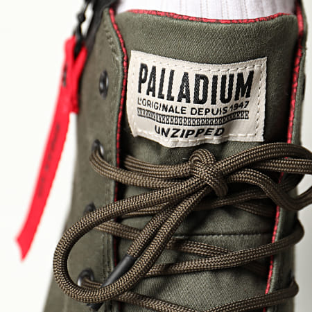 Palladium - Boots Pampa Unzipped 76443 Olive Night
