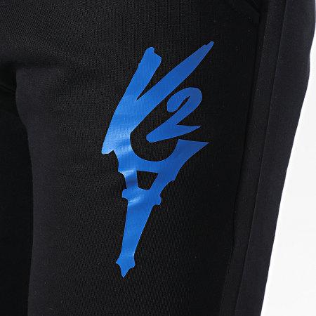 Da Uzi - Pantalon Jogging Logo Noir Bleu