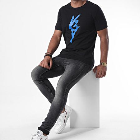Da Uzi - Tee Shirt Logo Noir Bleu