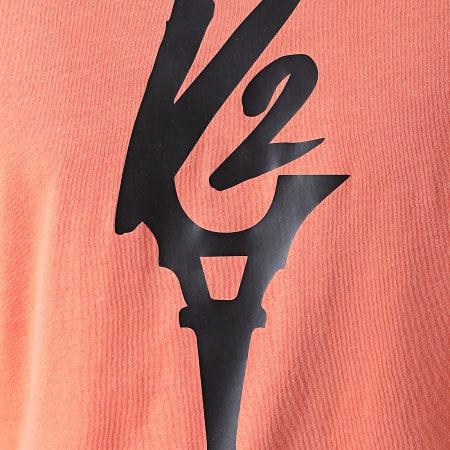 Da Uzi - Tee Shirt Logo Orange Noir