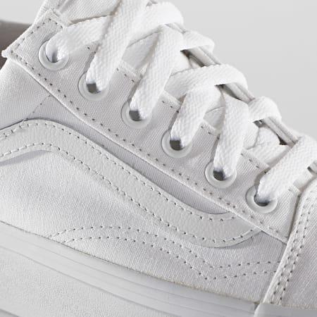 Vans - Baskets Femme Old Skool Platform A3B3UW001 True White