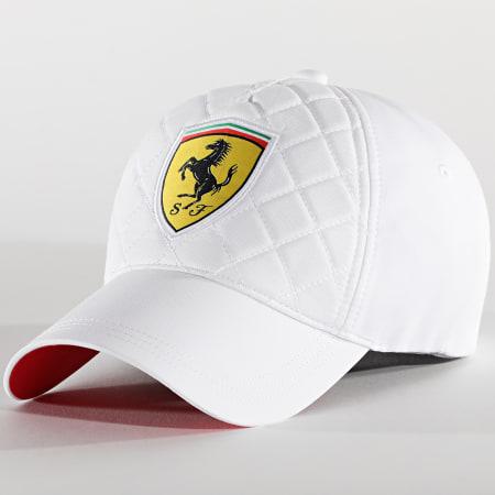 Ferrari - Casquette Quilt 130181044 Blanc