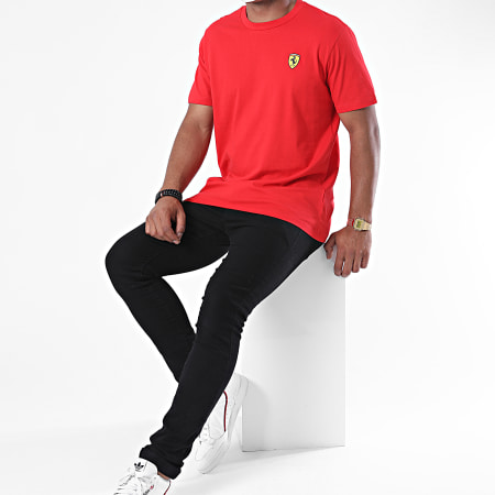 Scuderia Ferrari - Tee Shirt Classic 130181065 Rouge