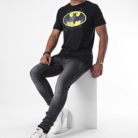 Batman - Tee Shirt Splatter Noir