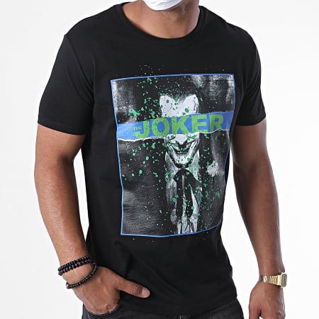 Batman - Tee Shirt Joker Splatter Noir