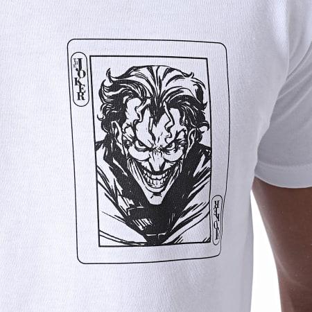 Batman - Tee Shirt Joker Card Blanc