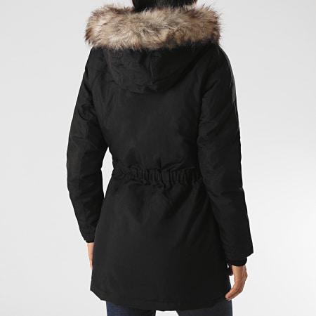Only - Parka Fourrure Femme Iris Fur Winter Noir