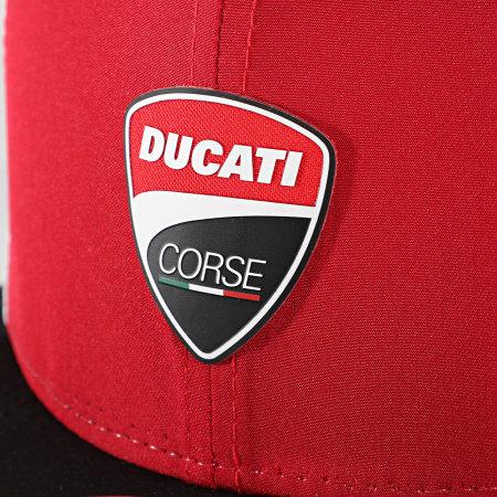 New Era - Casquette Snapback Multibadge 12500177 Ducati Rouge